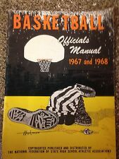 Basketball Hand Book Rules 1967 1968 High School The National Federation Edition