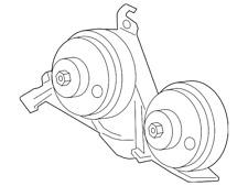 Genuine Ford Horn FL3Z-13832-A