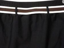 Ana Black Swim Suit Skirt Bottom 20W Bathing Suit With Brown Belt NWT Retail $46