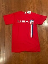 Men's USA Soccer Red  T-Shirt  - Size S
