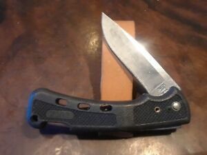 BUCK USA BUCKLITE MODEL 442 BLACK LOCKBACK LIGHTWEIGHT POCKET KNIFE W/CLIP