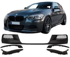 BMW 1 series F20 F21 M sport performance front splitter spoiler lip set UK.