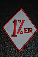 1%er Hells Angles Support Patch Outlaw Biker Red & White HA