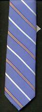Forsyth Von Maur Tie 100% silk blue NEW