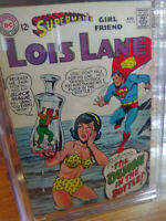 SUPERMAN'S GIRLFRIEND LOIS LANE / DC comics CGC 7.5