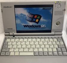 Toshiba Libretto 50CT - Vintage Portable Computer Perfect Condition - Collectors