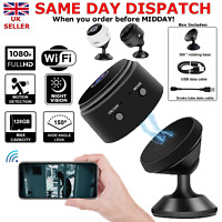 1080P Wireless WiFi CCTV Indoor/Outdoor HD MINI Spy IP Camera Home Security UK