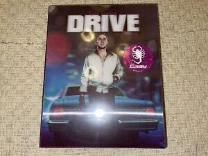 DRIVE Blu ray Steelbook ( NEW ) Lenticular - NOVA MEDIA - FULLSLIP ( REG A )