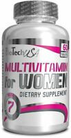 BioTech USA MULTI VITAMINS & MINERALS FOR WOMEN 60 TAB FREE WORLD SHIPPING !