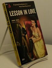 Lesson in Love by Emile Zola