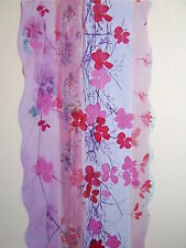 RED PINK PURPLE CLIMBING  FLOWER WALL FEATURE DECOR WALL SCROLL  MATCHES BORDER