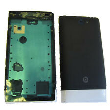 HTC Windows Phone 8X 8 X C620E ACCORD Fascia Housing Battery Cover Black + White