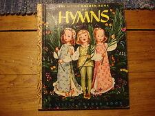 1947 Little Golden Book HYMNS E Edition, Dull Spine