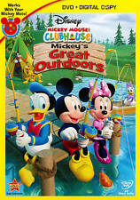 Mickey Mouse Clubhouse: Mickeys Great Outdoors (DVD, 2011, 2-Disc Set, Includes