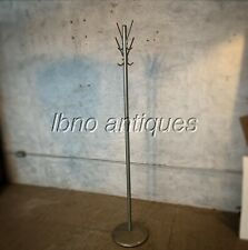 MCM ALUMINUM AND STEEL COAT RACK / HAT RACK / HALL TREE .  MADE IN USA