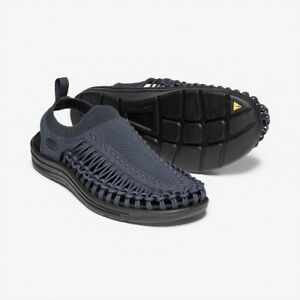 Keen Uneec Evo Men's Canvas Blue/Night Black Sport Sandal Size 7.5M