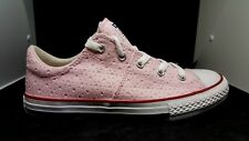Converse All Star shoes, Youth tennis shoes size 4 Youth clear Pink white