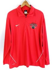 University of Tampa Spartans Basketball Nike Dri-Fit Pullover Men's Large Red