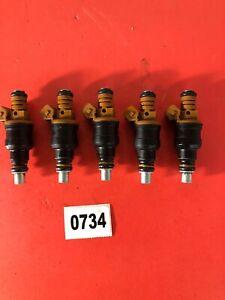 734  Set 5 Volvo 850 2.4l I5 0280150779  Bosch Flow Matched Fuel Injector