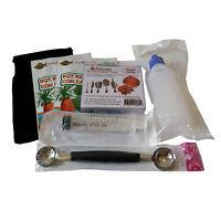Starter Kit 3D Jelly Gelatin Tools Jello Art Cake (Poinsettia Kit #10)