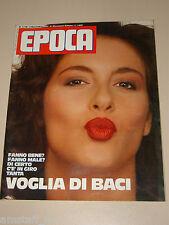 EPOCA=1984/1778=SABRINA FERILLI ?=SLAVA ROSTROPOVICH=CARLO RUBBIA=TRIESTE=