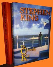 STEPHEN KING The Colorado Kid SIGNED Slipcased 49 / 150 First World HC New OOP!
