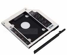 2nd SATA HD HDD SSD Caddy Adapter ejector for Dell E6400 E6500 M2400 M4400 M4500