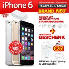 Brand Neu Versiegelt Ohne Simlock Apple iPhone 6 16 64 128GB Gold Silber Sp Grau