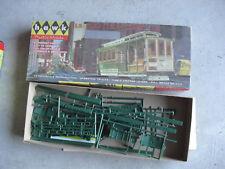 Vintage 1959 Hawk Models San Francisco Cable Car Model Kit in Box 517-98