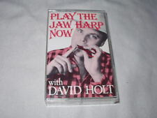 DAVID HOLT Play the Jaw Harp Now (Cassette Tape) Instruction Folk Country Jew's