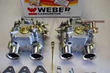 Mercedes Benz 190SL Dual 45 DCOE WEBER Carburetor kit w/Genuine European Webers