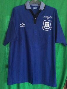 Everton FA Cup Final 1995 Football Shirt Adults XL Umbro Made In England