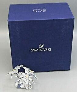 Swarovski retired Membership 2020 Idelweiss collectible Figurine , Factory New