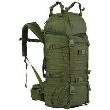 Wisport Wasbeer 45L Rugzak Wandelen Webbing Backpack Trekking Pack Olijfgroen
