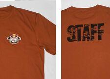Red Bull Rampage Staff T Shirt Sport Tek Polyester Rust Orange Tone XL