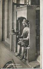 UK Old Postcard Jack Blandiver Wells Cathedral No 6353 Unused  Sold as Per Scan