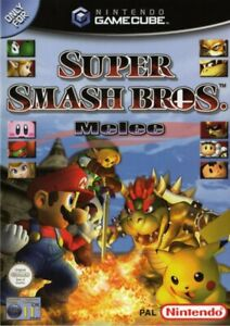 Super Smash Bros Melee (PAL) - Gamecube - COMPLETE Game Disc, Case and Manual