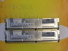 8GB (2X 4GB) DDR2 PC2-5300FB 240-Pin 667 MHz fully buffered M395T5160QZ4-CE66