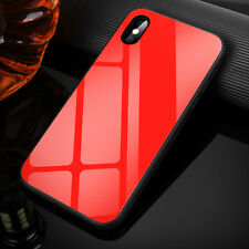 9H Tempered Glass Back Anti-Scratch Case Cover Shockproof for iPhone X 8 7 Plus