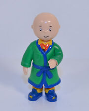 "2000 Caillou in Green Robe 2.5"" Irwin Action Figure PBS Kids Treehouse"