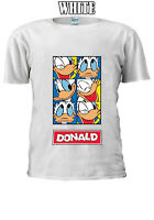 Disney Donald Duck Cartoon Character Men Women Unisex T-shirt V71
