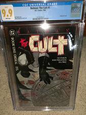 Batman: The Cult #1 CGC 9.9 DC 1988 MINT! Not 9.8! Key Modern! JLA! K10 122 cm