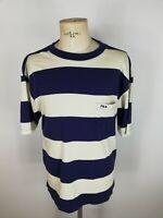FILA VINTAGE Maglia Maniche Corte Polo T-Shirt Camiseta Tg 54 Uomo Man