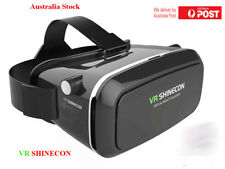 3D VR Virtual Reality Glasses Headset Cardboard For iPhone Samsung HTC AU