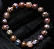 Round Beads Bracelet South Africa 10mm Natural Pietersite Namibia Gemstone