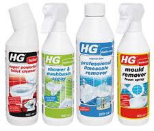 HG Bathroom Care Kit Foam Spray Toilet Cleaner Shower Spray Limescale Remover