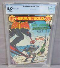 BRAVE AND THE BOLD #106 (Two-Face Origin, Batman) CBCS 8.0 VF DC Comics 1973 cgc