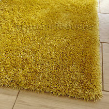 Think Rugs Monte Carlo Hand-tufted Area Rug Yellow 80cm X 140cm