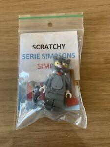 Lego 71005 Simpsons Minifigure série 1 - Scratchy - Complet jamais monté