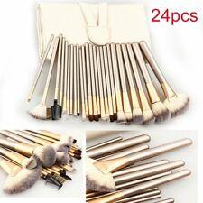 24PCs Professional Makeup Brushes Cosmetics Foundation Brush Set w/ Carring bag